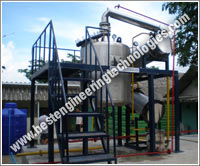 Distillation plant for Sandle wood