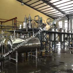Herbal Extraction Plant - Solvent Extraction Plant